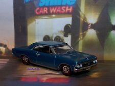 1966 66 CHEVY CHEVELLE SS 396 DIECAST MODEL 1/64 SCALE COLLECTIBLE - DIORAMA