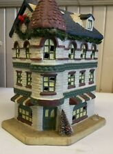 Holiday Expressions Winter Village Toy Shop (K)