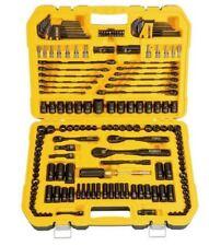 Dewalt ® 181 piezas Conjunto de herramientas mecánicas Kit de Destornillador Trinquete Enchufe Bujía
