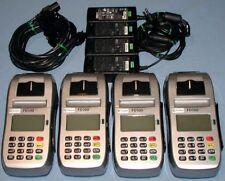 First Data Fd100 Ti Pos Credit Card Reader Terminal & Power Supply Fd100Ti