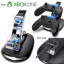 LED Dual Fast Charging Dock Station Charger for Xbox One/Xbox One S ControllerSC
