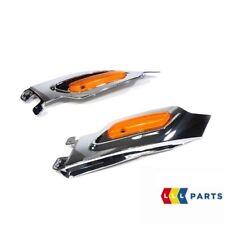 MINI Nuovo Originale R60 R61 lato Carrier TURN SIGNAL Trim Chrome Coppia Set