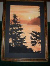 Original Landscape Pastels Painting 11 x 17 by Garry Wayman