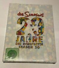 4 DVD Box TV-Serie Die Simpsons Die komplette Staffel Season 20