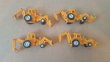 Newray set of 4 tractors