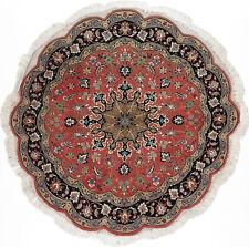 Täbriz Teppich Orientteppich Rug Carpet Tapis Tapijt Tappeto Alfombra Art Round