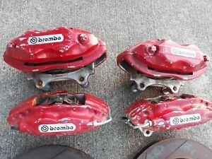 06 Chrysler 300 SRT8 Brembo brake calipers