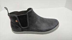 Bogs Kicker Rain Chelsea Boot, Black, Women's 8 M