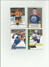 LEON DRAISAITL LOT 4 RC UD MASTERPIECES ROOKIE OILERS 2014
