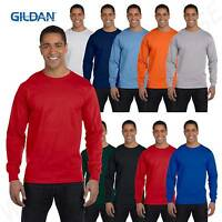 Gildan Mens T-Shirt Long Sleeve DryBlend 5.6 oz 50/50  S-XL G840