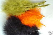 3x4 plumes de MARABOU COMBO 12 a 17 cm montage mouche fly tying feathers