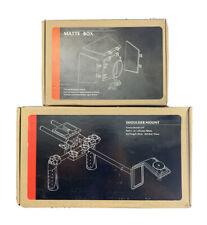 DSLR Shoulder Mount + Matte Box For All Cameras & Video Camcorders
