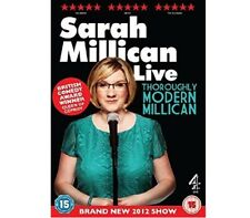 Sarah Millican - Thoroughly Modern Millican Live [DVD] by Sarah New And Sealed