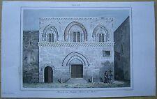 1848 print MALTA: HOUSE OF THE GRAND MASTERS, VALLETTA (#40)