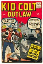 Kid Colt Outlaw #94 1960- Kirby cover- Stan Lee FN-