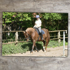 XXL Fußmatte 50x70 cm mit Pferde-Wunschfoto Personalisiert Pferd Reiten 50x70 cm