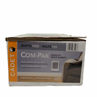 Cadet 67508 CSC101TW 120V 1000W White Com Pak Fan Forced Wall Heater wThermostat