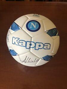 🚨 Pallone SSC Napoli 🔵🔵 Autografato Mertens - Allan - Albiol - Ounas
