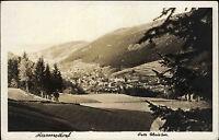 Hannsdorf Hanušovice Tschechien Česká alte AK ~1940 Panorama Dorf Foto Christen