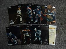 1998-99 McDonalds Upper Deck Gretzky Teammates Set + Checklist - Missing 4 Cards