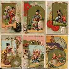 Chromo Liebig Sang. 71 ITA Cinesi e Giapponesi I ANNO 1878/83
