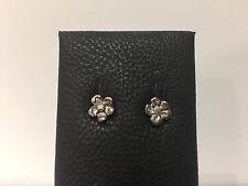 Ohrringe earrings - Silber flower - Blume Silber-