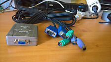 Connectland KVM SWITCH DS-CS-82A-MINI 2 PC -> 1 Console VGA + PS2