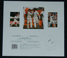 AUSTRALIA CRICKET GEOFF MARSH DAVID BOON HAND SIGNED THE OPENERS OFFICIAL PRINT