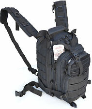 Outdoor Military Tactical Assault Backpack with Molle - Bug-Out-Bag - Black