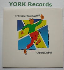 "GRAHAM KENDRICK - Let The Flame Burn Brighter - Ex Con 7"" Single Make Way P 30"