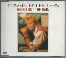 MAARTEN PETERS - bring out the rain CDM 2TR 1990 HOLLAND REL.
