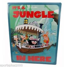 """11"""" Disney Jungle Cruise Boat Phineas And Ferb It'S A Jungle In Here Metal Sign!"""