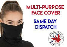 Unisex Breathable Bandana Face Covering Fabric Seamless Neck Snood Multi-Purpose