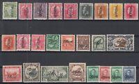 BJ6536/ NEW ZEALAND – OFFICIAL – 1907 / 1942 MINT SEMI MODERN LOT – CV 645 $