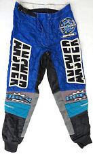 vtg Answer APEX MX Riding Pants size 28 FINLAND MADE 90s motocross bike kevlar