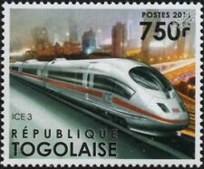 German (DB) InterCity Express ICE 3 High Speed Electric Train Stamp