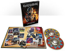 IRON MAIDEN CD x 2 The Book Of Souls - LIVE CHAPTER Deluxe BOOK Edition LIMITED