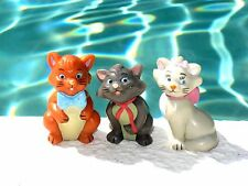Disney Applause PVC Aristocats Marie Toulouse & Berlioz Figures Cake Topper Toys