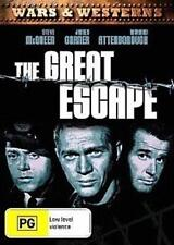 GREAT ESCAPE, THE: Steve McQueen, James Garner, Richard Attenborough DVD NEW