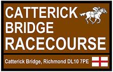 Cheval de Course - 'Road' Signes (Catterick) - Souvenir Nouveauté Magnétique -