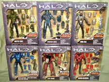 "SET OF 6 MASTER CHIEF HELIOSKRILL LINDA-058 ZEALOT AIR Halo 6"" Alpha Crawler BAF"