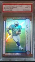 1999 REFRACTOR Edgerrin James RC #161 HOF, PSA 9 / MINT