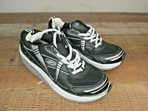 Dr Scholl's Personal Trainers Black&White Women's 6.5 Comfort Support Walking