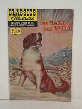 1970 classics illustrated no.91 the call of the wild comic book by jack london