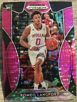 2019-20 Panini Prizm Romeo Langford Rookie Card RC Pink Pulsar Prizms Celtics 🔥