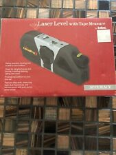 TANDY  LEVELPRO 3 {96413-040}  LASER LEVEL w/Tape Measure + 2 AAA Batteries