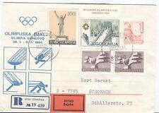 Jugoslavia Olympische Spiele Olympic Games 1984 Torchrun Titograd to Sarajevo