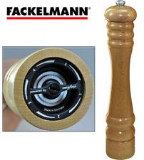Fackelmann HOLZ 30-40 cm hoch Pfeffermühle Salzstreuer Salzmühle Streuer
