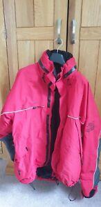 Vintage Norrøna Norrona Couloir GORE-TEX Mens Red Ski Hooded Jacket Size XXL