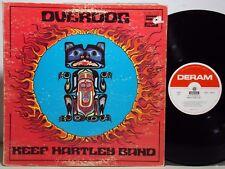 KEEF HARTLEY BAND Overdog 1971 Album LP Original Deram DAS 18057 VG+